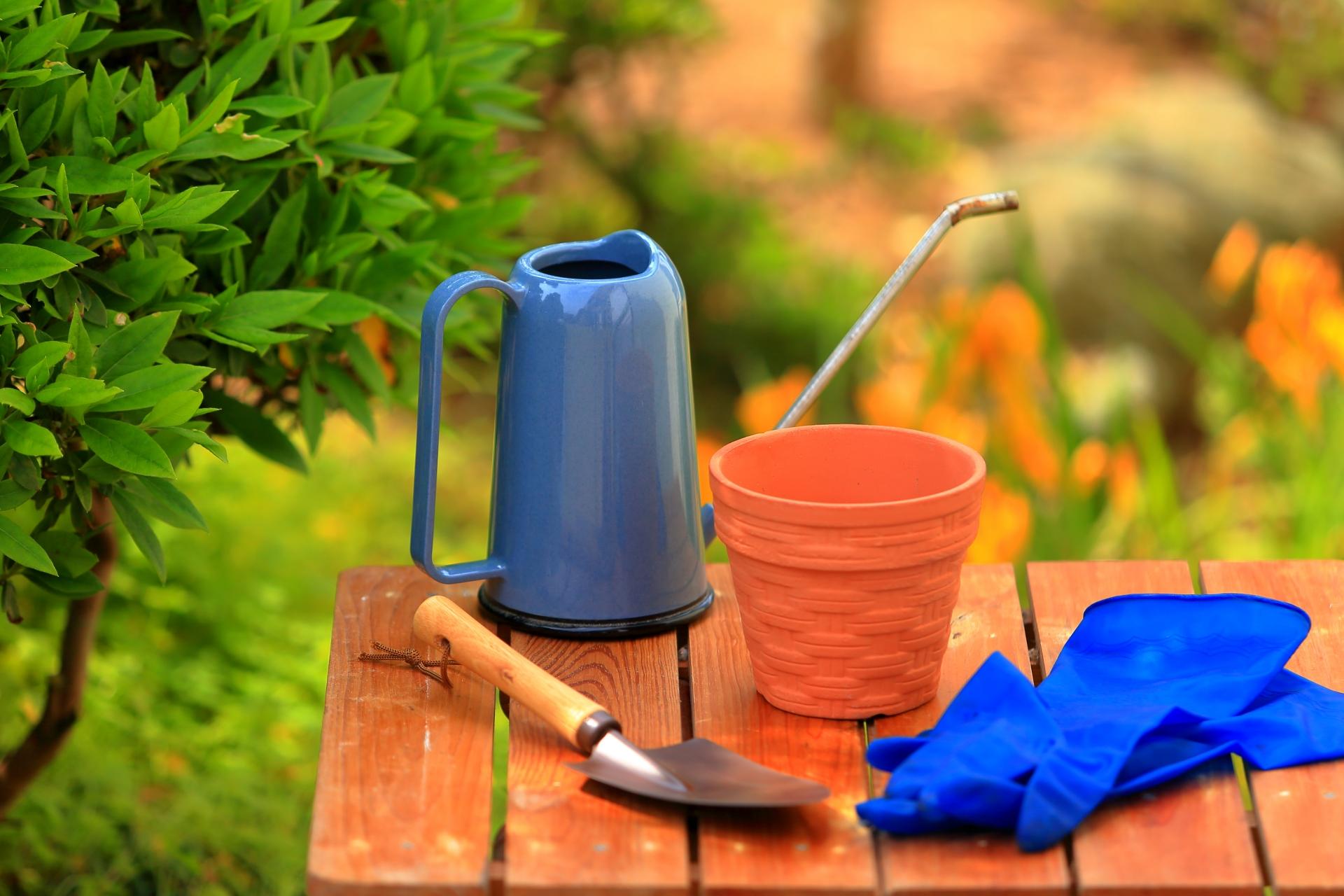 ガーデニングをする時に必要な園芸用品セット